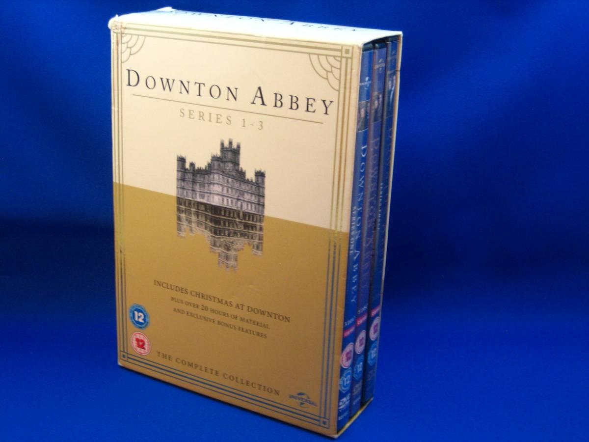 uk輸入盤dvd downton abbey シリーズ1-3 リージョン2 pal盤 外箱のみ状態可(ディスクは綺麗です)_画像1