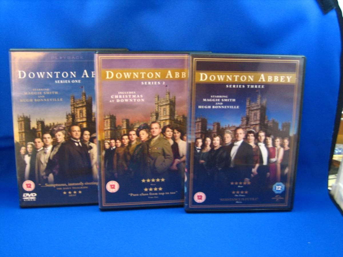 uk輸入盤dvd downton abbey シリーズ1-3 リージョン2 pal盤 外箱のみ状態可(ディスクは綺麗です)_画像2