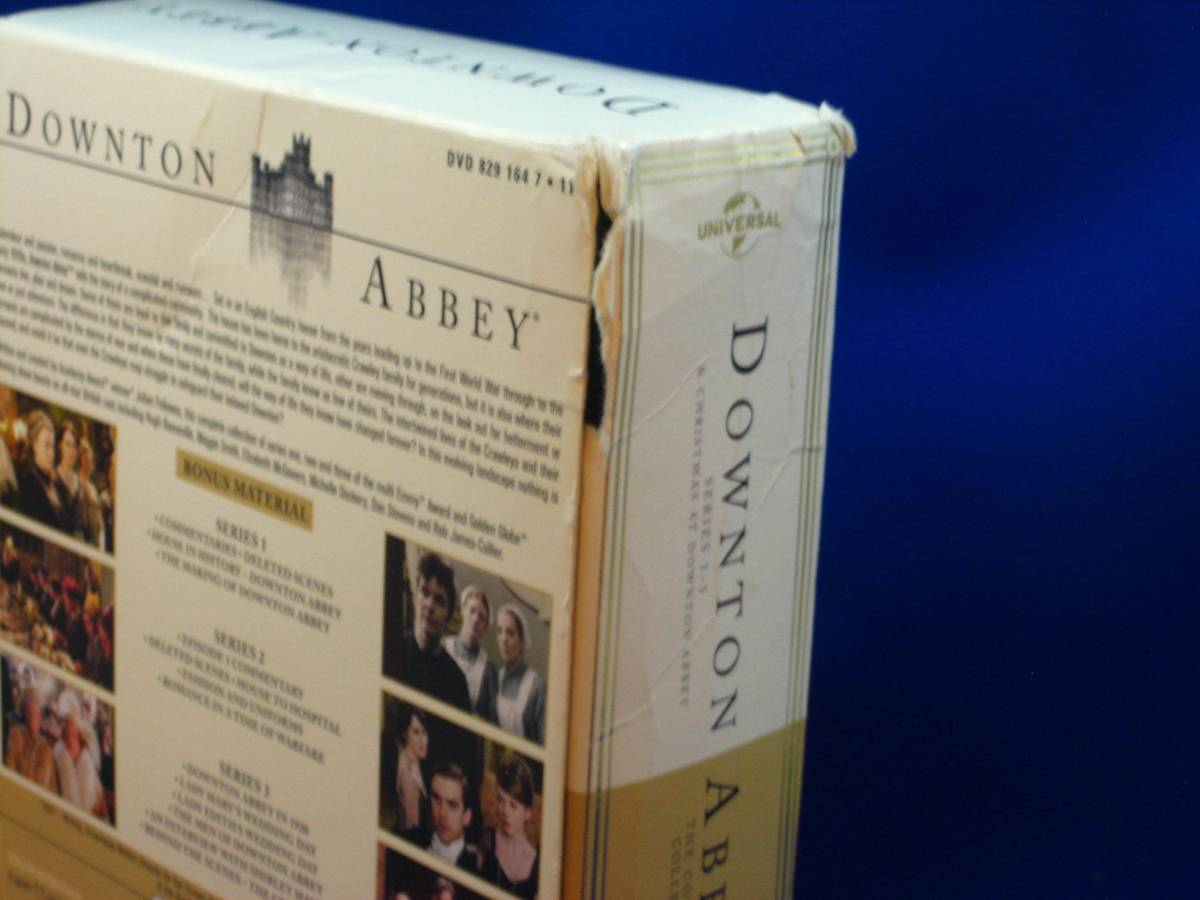 uk輸入盤dvd downton abbey シリーズ1-3 リージョン2 pal盤 外箱のみ状態可(ディスクは綺麗です)_画像3