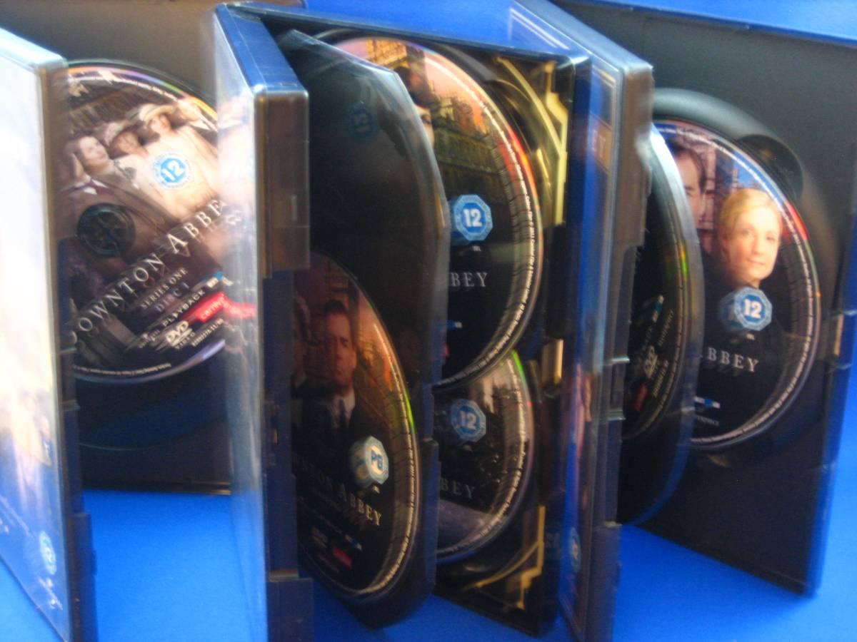 uk輸入盤dvd downton abbey シリーズ1-3 リージョン2 pal盤 外箱のみ状態可(ディスクは綺麗です)_画像5