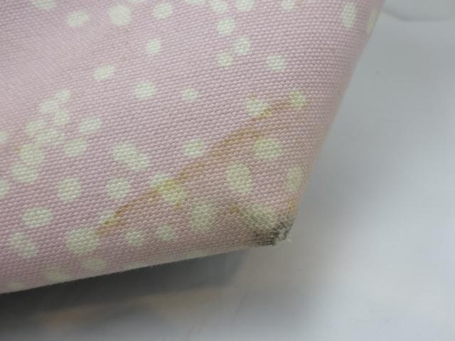【人気】シャネル / CHANEL レディース トートバッグ  キャンバス×コーデュロイ ピンク ブラック_画像9