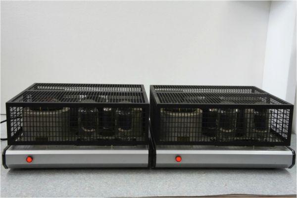 E587サ】 自作 真空管 モノラルパワーアンプ ペア 12A OUTPUT TRANS(Western Electric)、CV1219 KB/Z