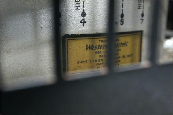 E587サ】 自作 真空管 モノラルパワーアンプ ペア 12A OUTPUT TRANS(Western Electric)、CV1219 KB/Z_画像10