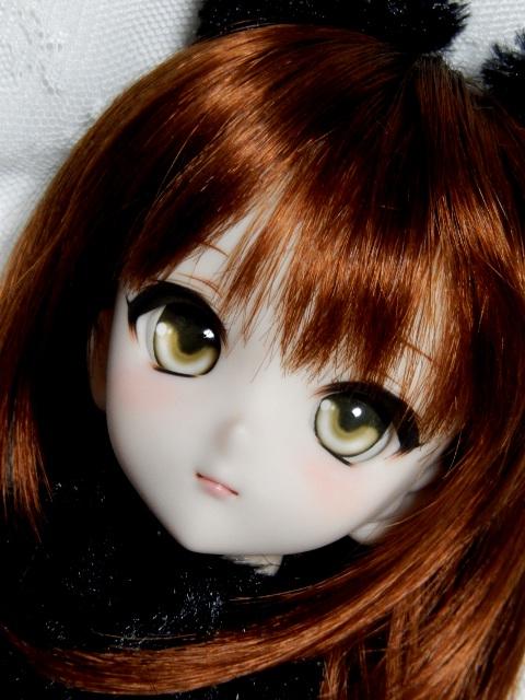 ◆sepia blue◆ DDH-10 SW肌 カスタムヘッド+アイ二種
