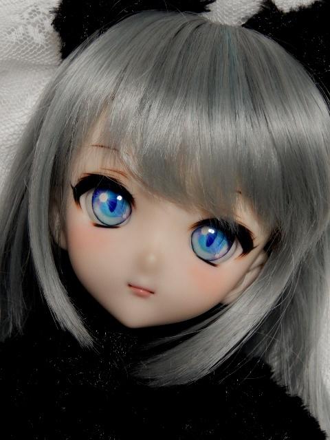 ◆sepia blue◆ DDH-10 SW肌 カスタムヘッド+アイ二種_画像2