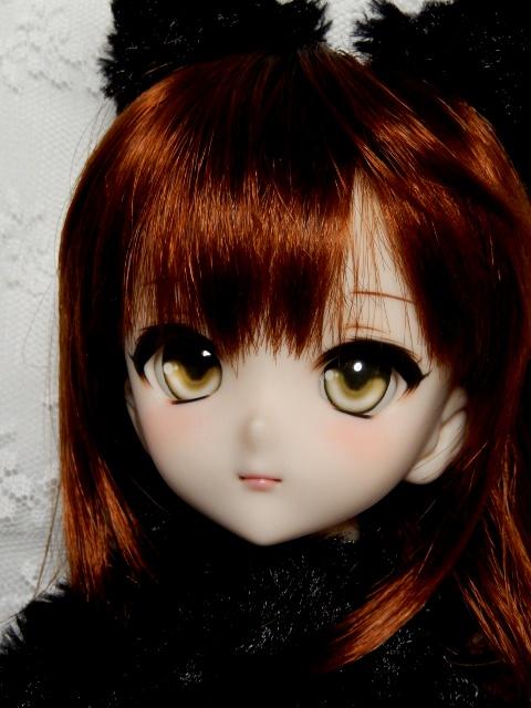 ◆sepia blue◆ DDH-10 SW肌 カスタムヘッド+アイ二種_画像4