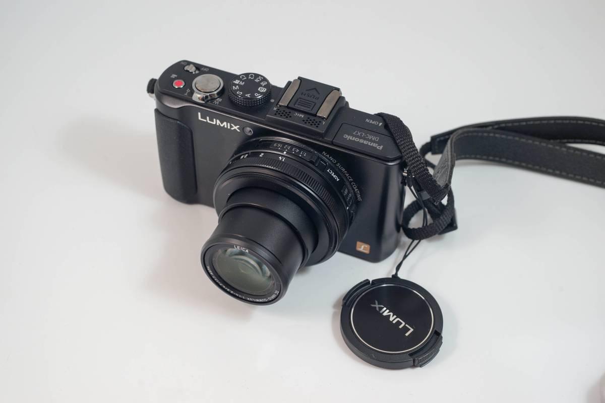 美品 Panasonic パナソニック LUMIX DMC-LX7 ゆうパック全国無料配送