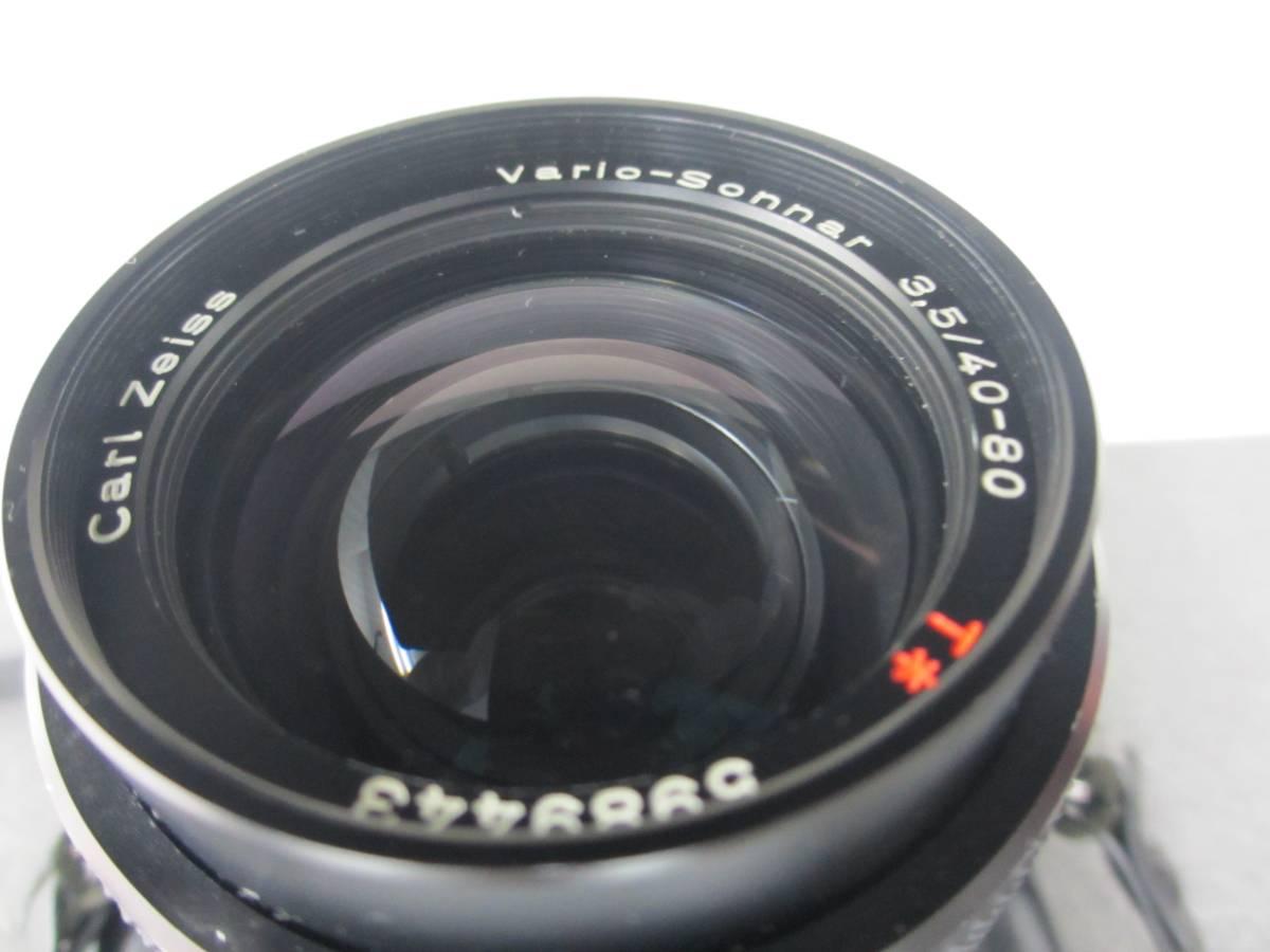 CONTAX/RTS フィルムカメラ/Carl Zeiss Vario-Sonnar 3.5/40-80 レンズ付き/ジャンク/コンタックス/シャッター動作OKジャンク扱い 格安出品_画像6