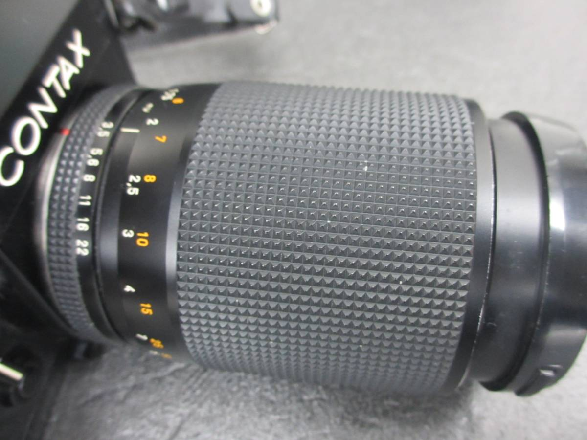 CONTAX/RTS フィルムカメラ/Carl Zeiss Vario-Sonnar 3.5/40-80 レンズ付き/ジャンク/コンタックス/シャッター動作OKジャンク扱い 格安出品_画像7