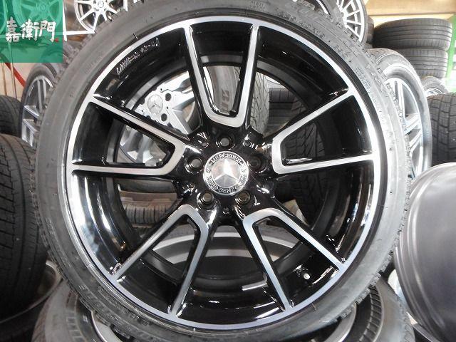 バリ山 2015年製 VRX付 ベンツ Cクラス AMG C43 純正 W205 人気商品 インチUPなどにも