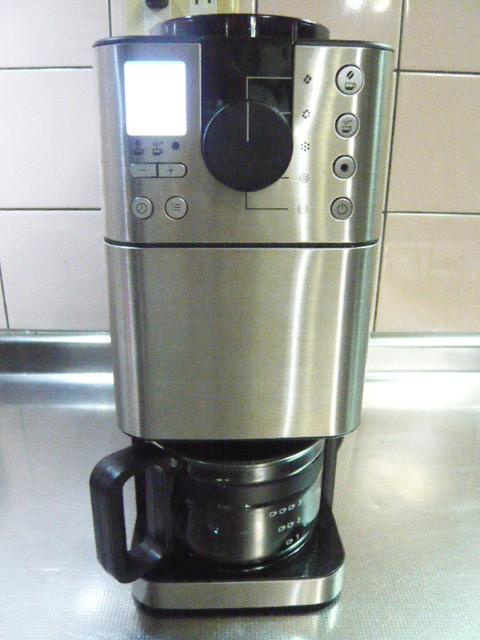 muji 無印 無印良品 豆から挽けるコーヒーメーカー 全自動コーヒーメーカー ステンレス ブラック