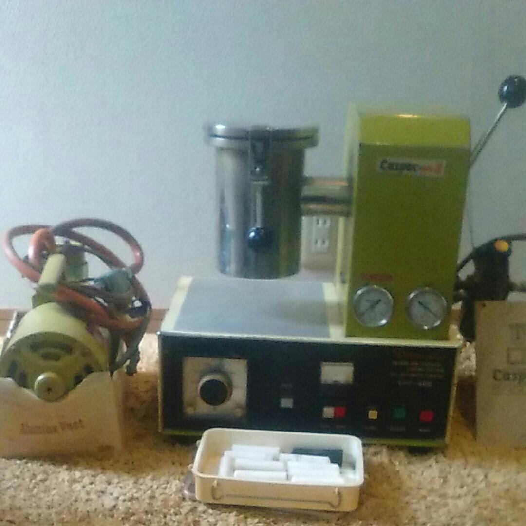 歯科技工 真空加圧鋳造機中古