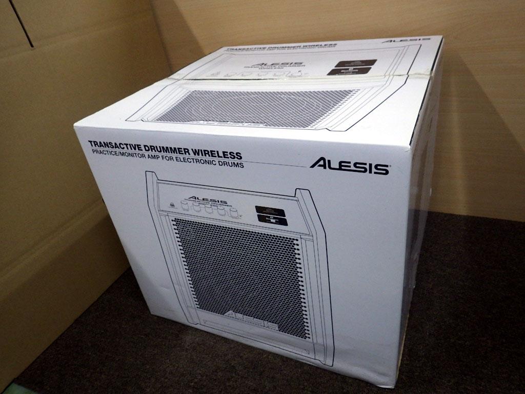 【送料無料】U223-1◯未使用 ALESIS TRANS ACTIVE DRUMMER WIRELESS ドラム用 モニタースピーカー アンプ(一部発送不可地域あり)