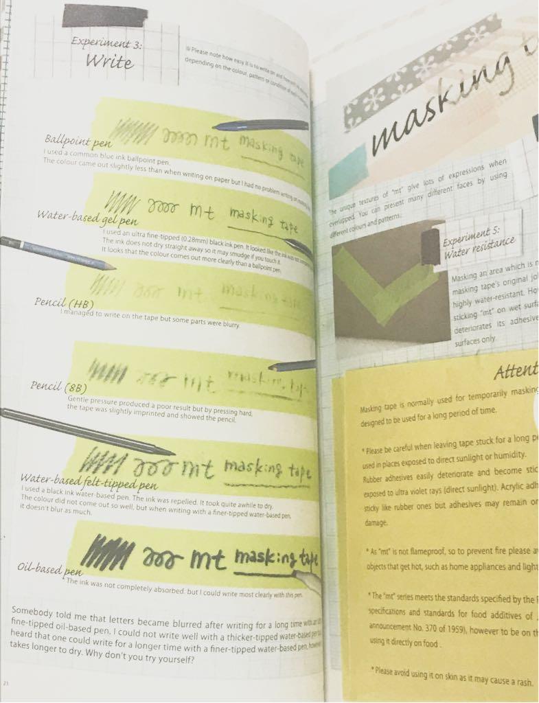 即決! 【限定・絶版】 *新品* mt kamoi masking tape book カモ井 マスキングテープ 本_画像6