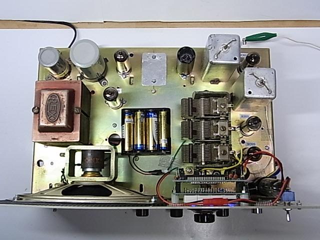 NSB Receiverケース利用 デジタル周波数表示付 自作ラジオ_画像7