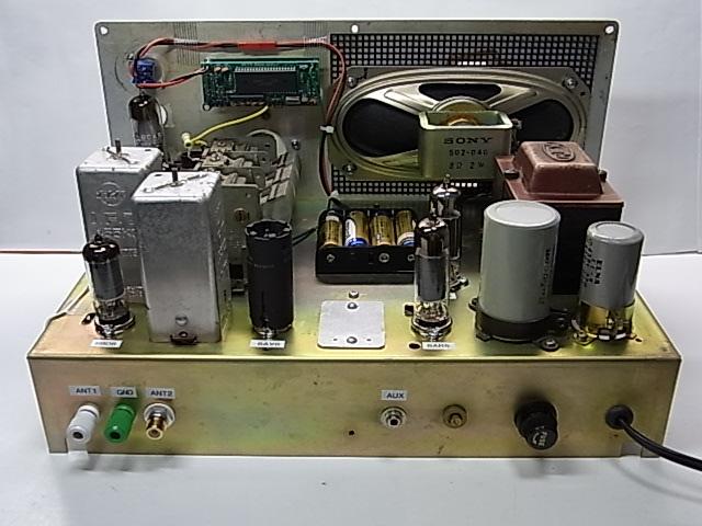 NSB Receiverケース利用 デジタル周波数表示付 自作ラジオ_画像9