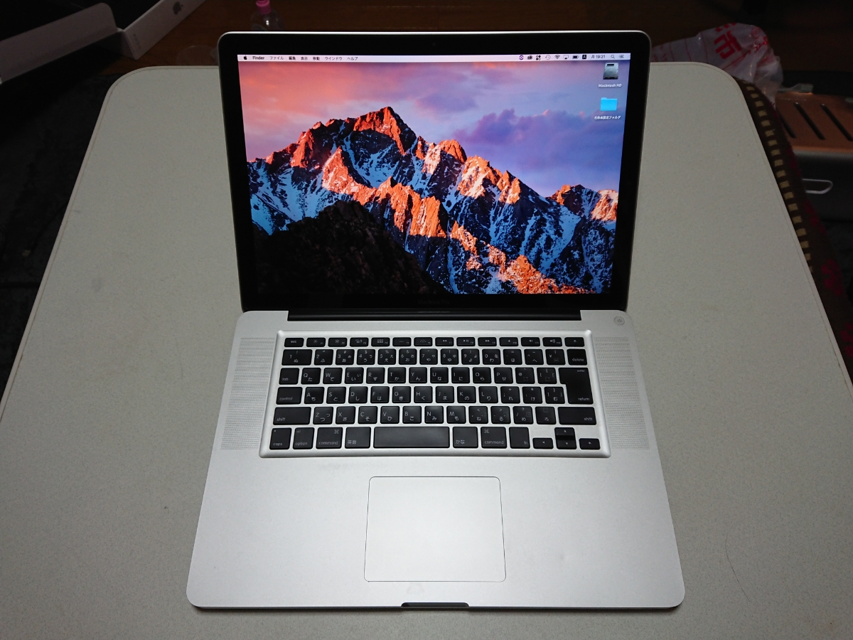 【1円~】 MacBook Pro mid 2012 15インチ i7 2.6GHz メモリ8G CDドライブ搭載最終モデル