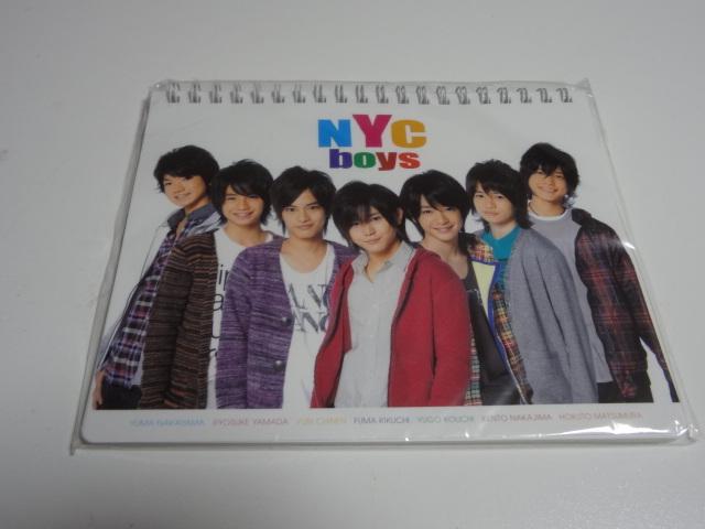 ■未使用 カレンダー NYC boys■