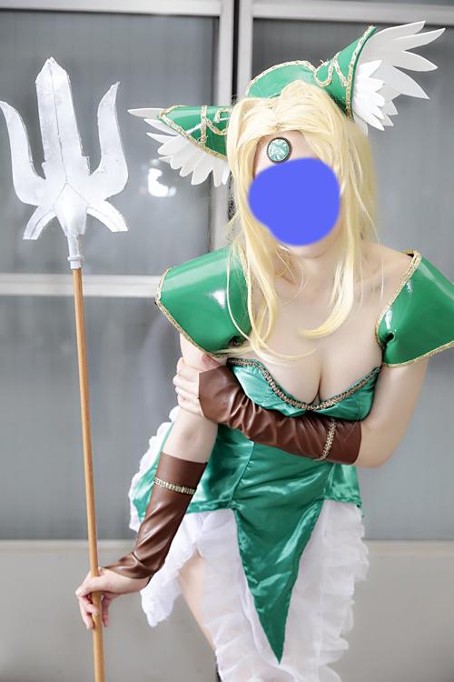 聖剣伝説3 リース コスプレ衣装 フルセット ウィッグ付_画像4