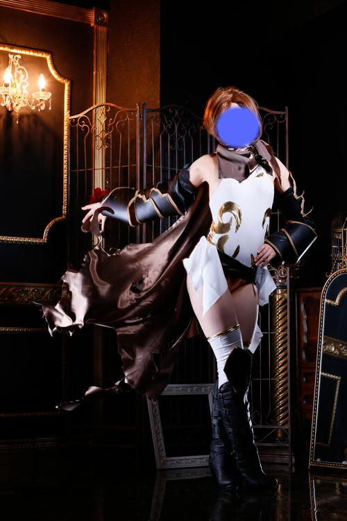 グランブルーファンタジー グラブル 黒騎士 コスプレ衣装 フルセット 素人製_画像2