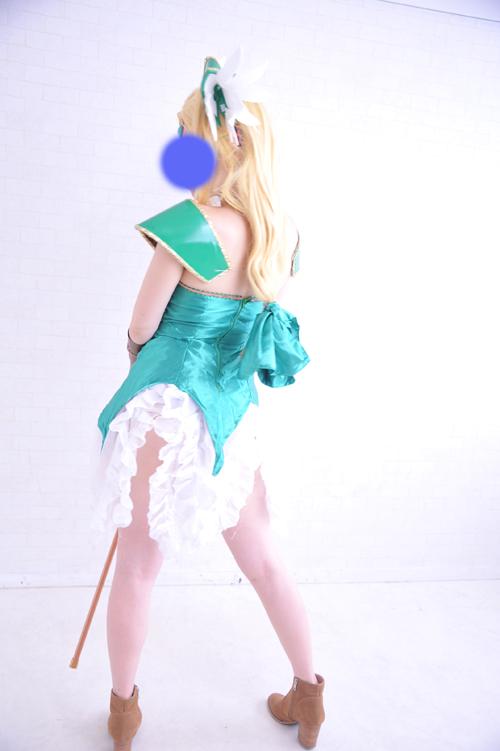 聖剣伝説3 リース コスプレ衣装 フルセット ウィッグ付_画像2