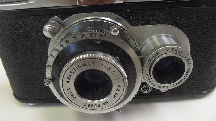 コレクター所有カメラ⑩ トヨカ 横二眼 / Toyoca 35  トヨカフレックス35  動作未確認 ジャンク_画像6