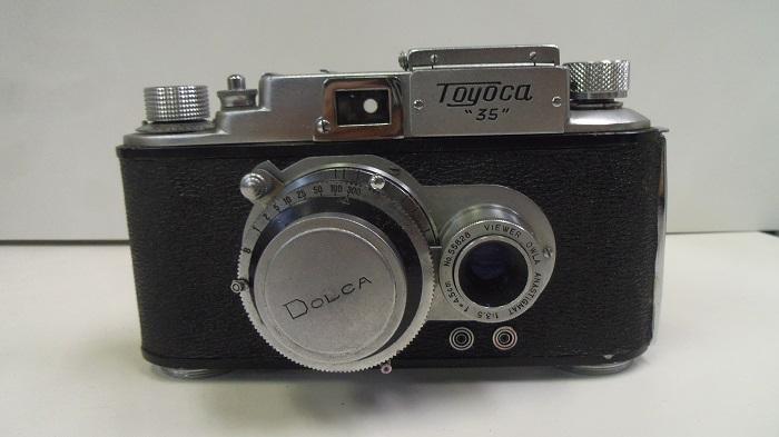 コレクター所有カメラ⑩ トヨカ 横二眼 / Toyoca 35  トヨカフレックス35  動作未確認 ジャンク_画像5