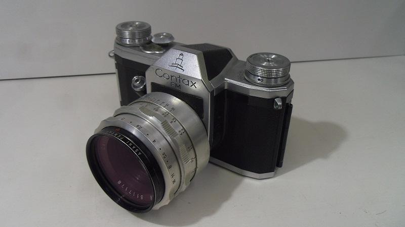 コレクター所有カメラ⑲ CONTAX FM 動作未確認 レンズ Carl Zeiss jena Biotar 2/58 ジャンク