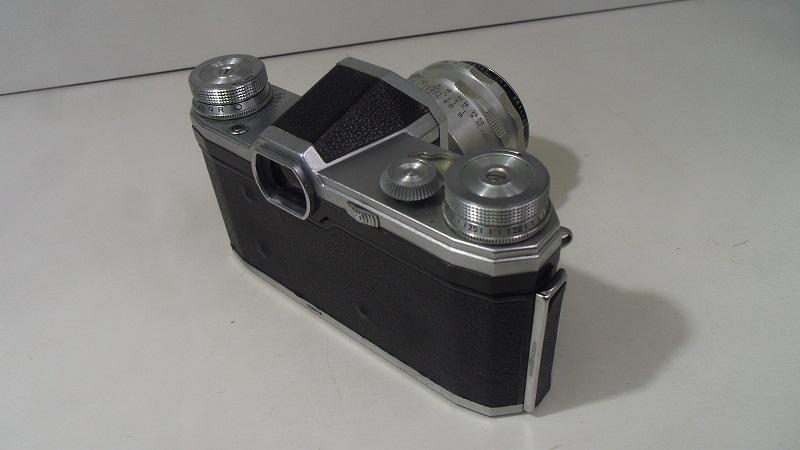 コレクター所有カメラ⑲ CONTAX FM 動作未確認 レンズ Carl Zeiss jena Biotar 2/58 ジャンク_画像2