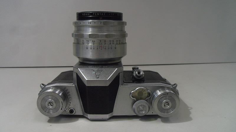 コレクター所有カメラ⑲ CONTAX FM 動作未確認 レンズ Carl Zeiss jena Biotar 2/58 ジャンク_画像3