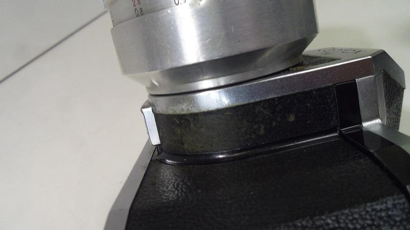 コレクター所有カメラ⑲ CONTAX FM 動作未確認 レンズ Carl Zeiss jena Biotar 2/58 ジャンク_画像5