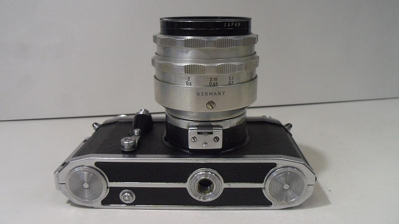 コレクター所有カメラ⑲ CONTAX FM 動作未確認 レンズ Carl Zeiss jena Biotar 2/58 ジャンク_画像4