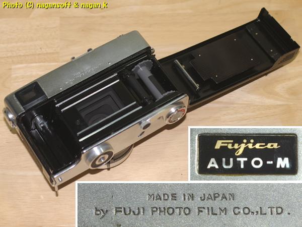 Fujica 35 AUTO-M - ジャンク品、欠損箇所あり、蘇生素材、部品取り素材としてどうぞ_画像4