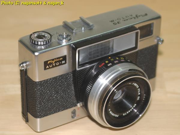 Fujica 35 AUTO-M - ジャンク品、欠損箇所あり、蘇生素材、部品取り素材としてどうぞ_画像1