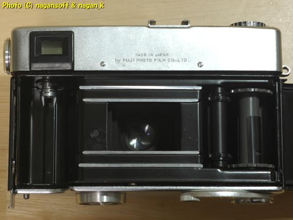 Fujica 35 AUTO-M - ジャンク品、欠損箇所あり、蘇生素材、部品取り素材としてどうぞ_画像5