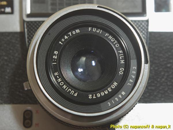 Fujica 35 AUTO-M - ジャンク品、欠損箇所あり、蘇生素材、部品取り素材としてどうぞ_画像7