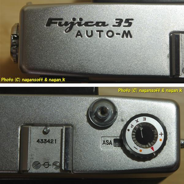 Fujica 35 AUTO-M - ジャンク品、欠損箇所あり、蘇生素材、部品取り素材としてどうぞ_画像8