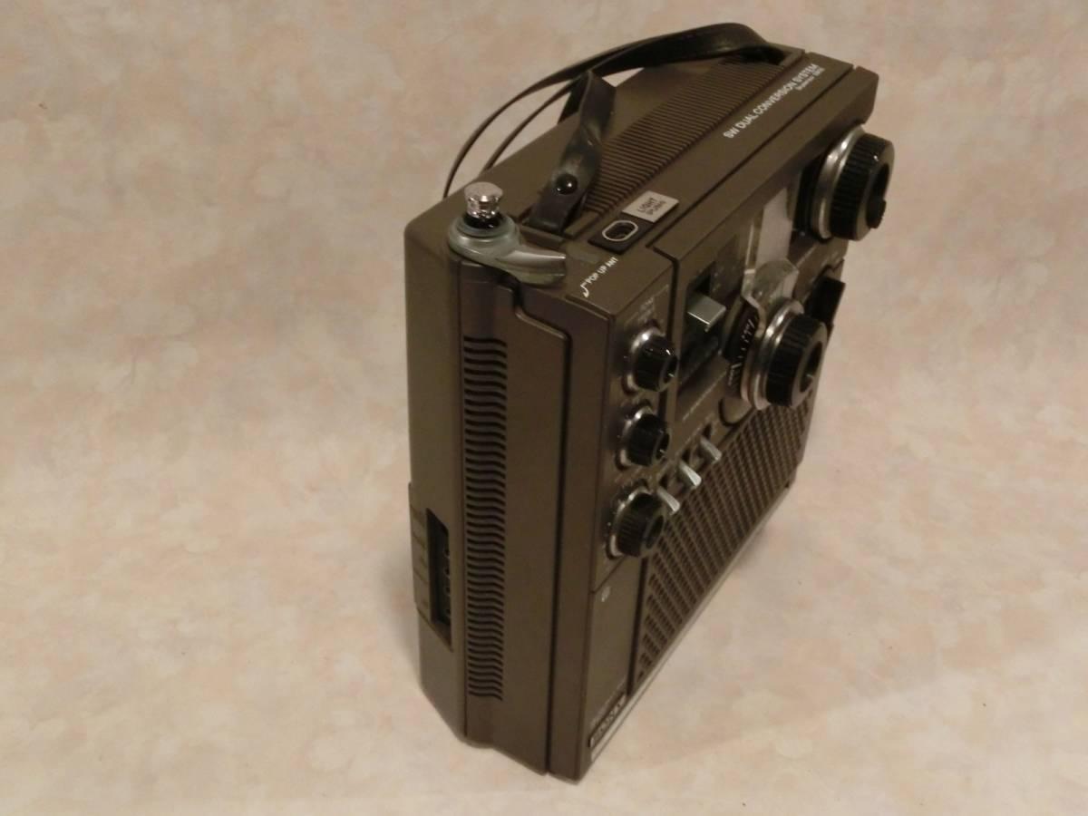 中古:.SONY BCLラジオ ICF-5900 後期現状品 【ラジオ作動確認】_画像3