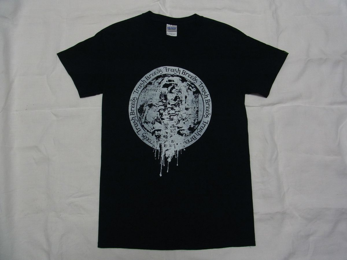 ☆美品☆ TRASH BREEDS TRASH 初期 Tシャツ sizeS 黒 ☆古着 TrashBreedsTrash OLEDICKFOGGY オールディックフォギー blackmeans
