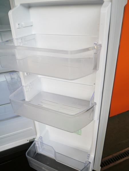 良好品◇三菱 600L 6ドア冷蔵庫(シャイニーブラウン) MR-JX60W-BR_画像4