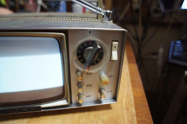 SONYトランジスターマイクロテレビ MODEL 5-202_画像4