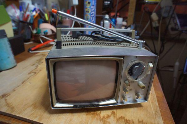 SONYトランジスターマイクロテレビ MODEL 5-202