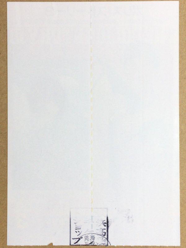 映画ペアチケット半券「ポリス・ストーリー3」ジャッキー・チェン_画像2