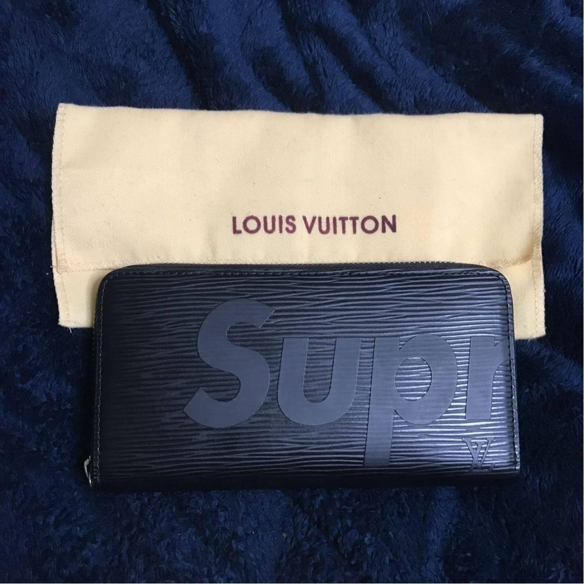 Louis Vuitton Supreme 長財布 エピ ラウンド ジッピー シュプリーム ヴィトン コラボ