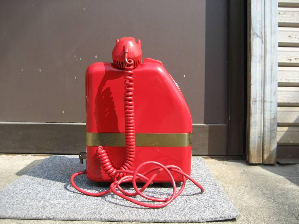田村電気製作所 赤電話 公衆電話 670-A1N 【中古・動作未確認】_画像5