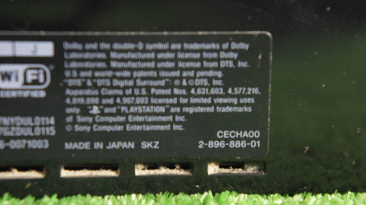 初期型 プレステーション3 CECHA00 ジャンク_画像3