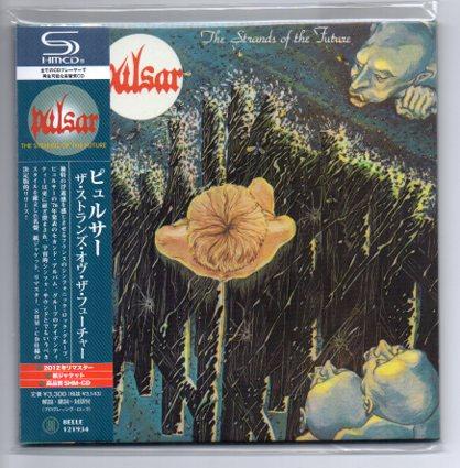 ピュルサー SHM-CD紙ジャケ【 ストランズ・オヴ・ザ・フューチャー 】PULSAR