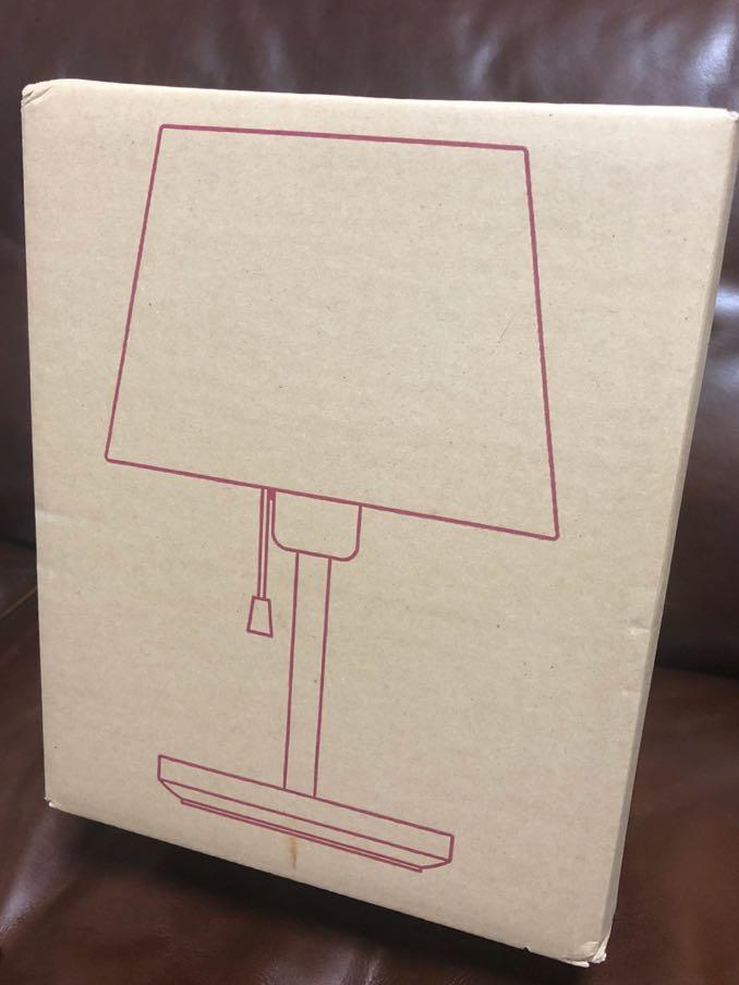 【無印良品】スタンドライト 布シェード タモ材 未使用未開封_画像3