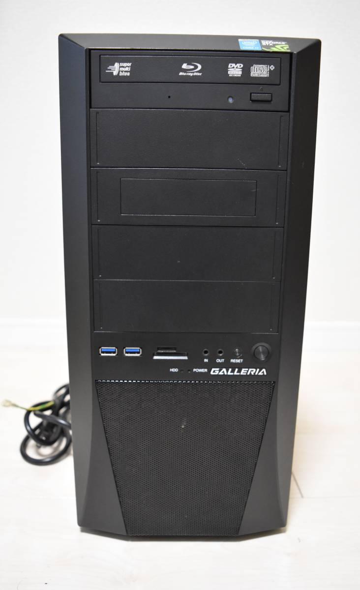 ★高性能★ Core i7 第4世代 / メモリ 24GB / SSD256GB + HDD 2TB ◆NVIDIA GeForce GTX 780◆Windows10 ◆USB 3.0+2.0 ◆Blu-ray