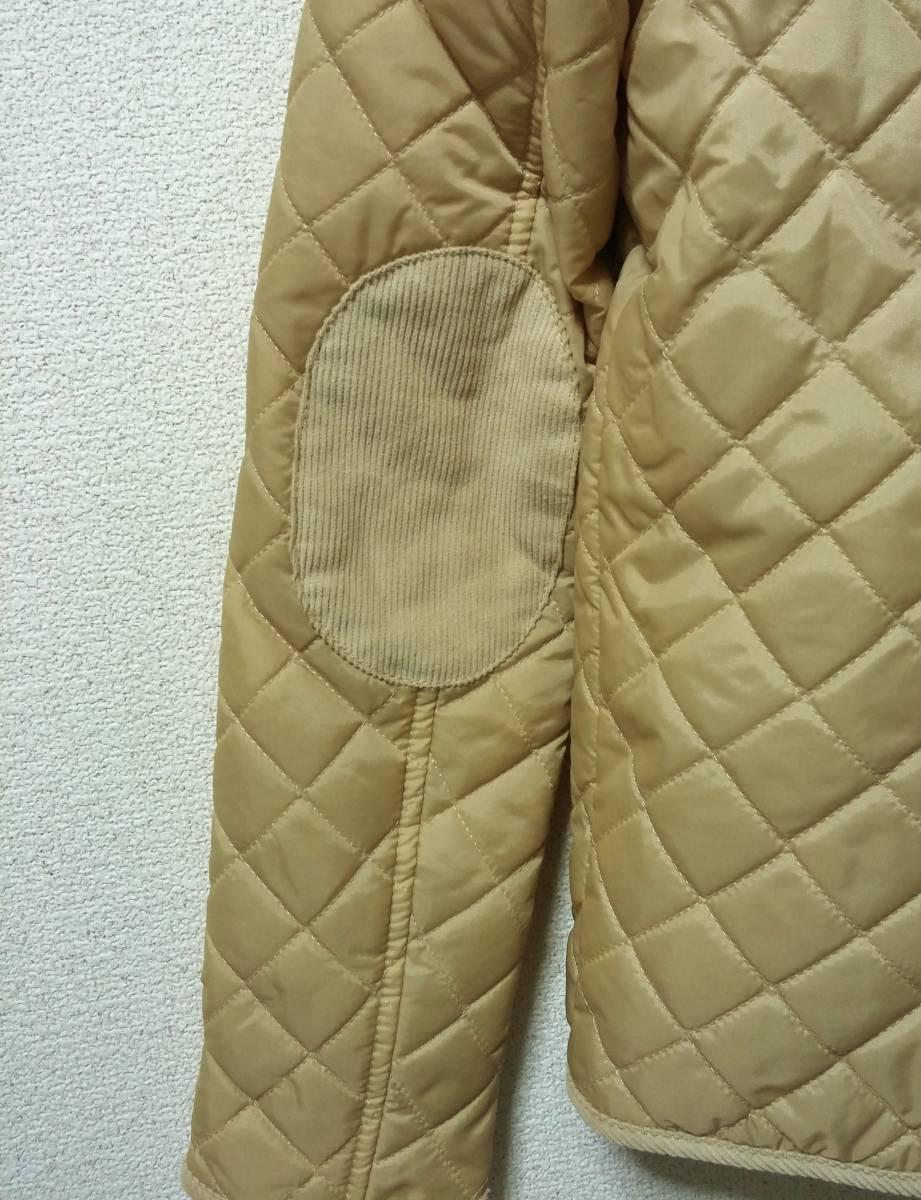 新品 TOPSHOP 中綿入りキルティングジャケット 36 ベージュ 花柄 コート ブルゾン トップショップ_画像5